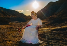 Vestido novia Claudia Arrieta