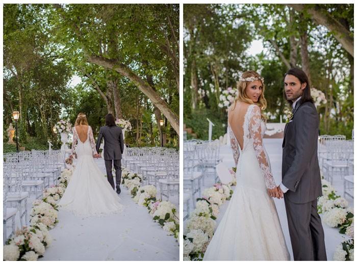 Sergio Sánchez y Elisabeth Reyes se casan