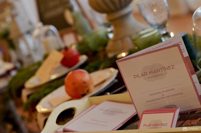 mesa otoñal para bodas