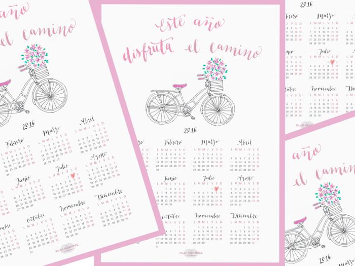 Calendario para bodas 2016