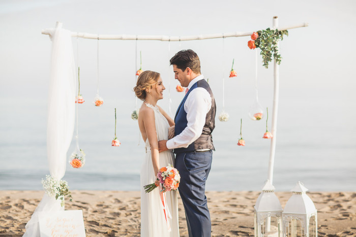 ceremonia boda en la playa