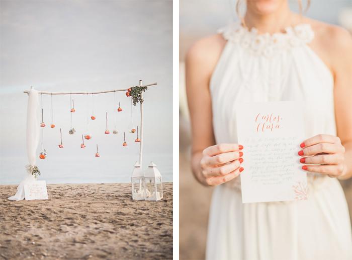 Invitaciones boda en la playa