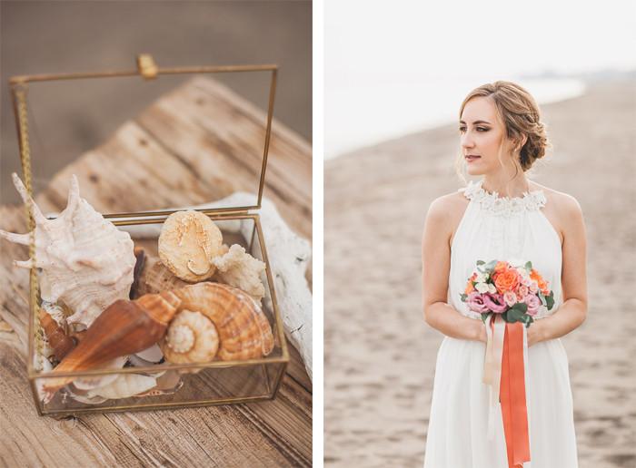 ramo novia boda en la playa