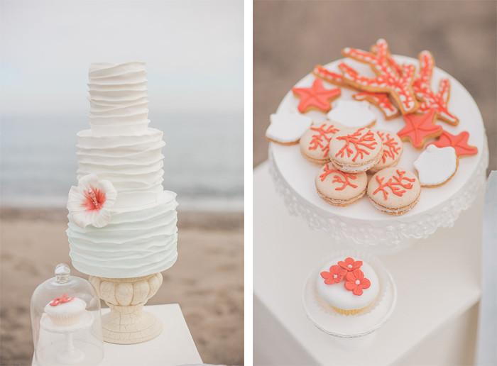 tarta boda junto al mar