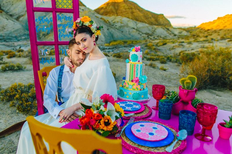 Decoracion boda color