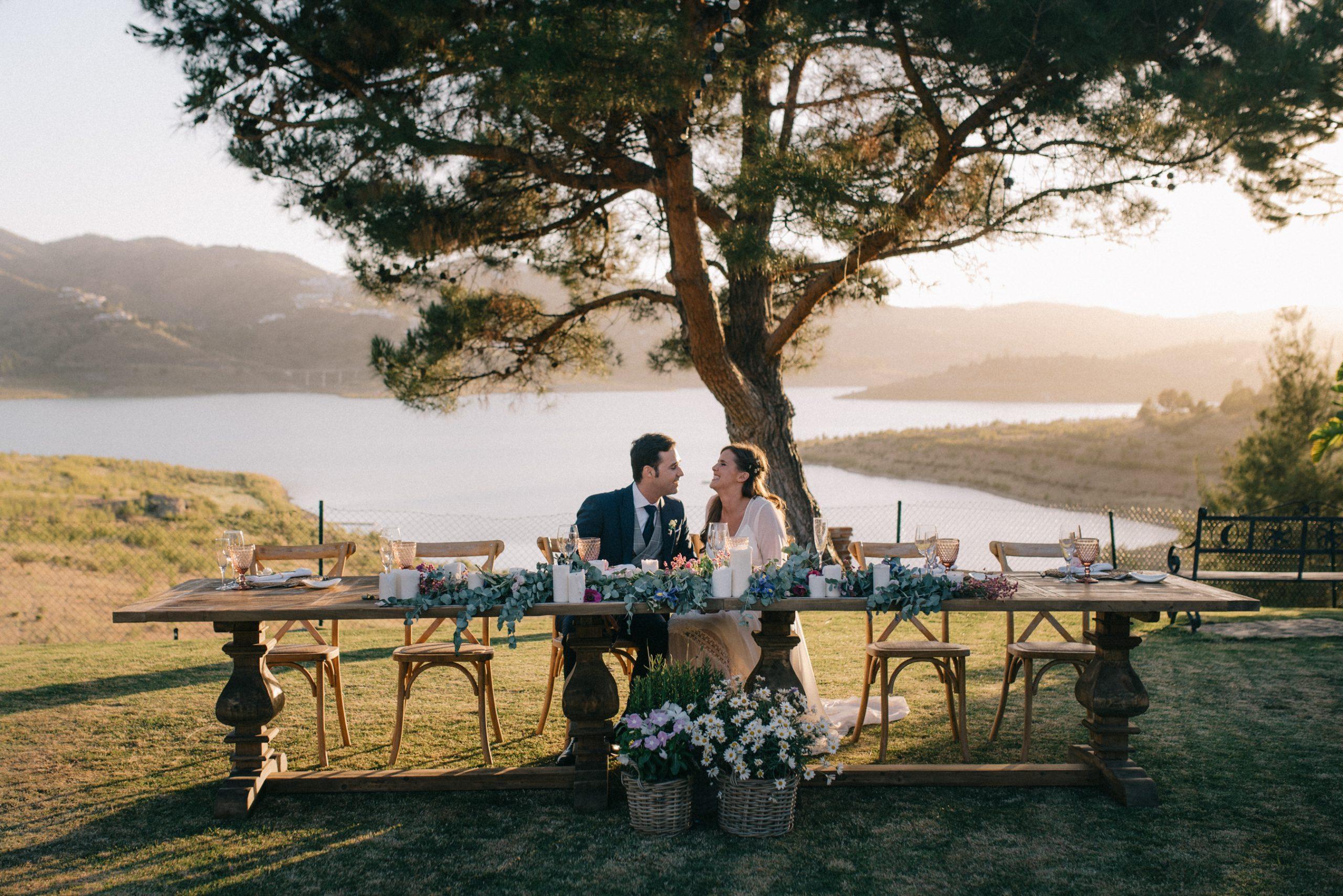 boda en La Viñuela