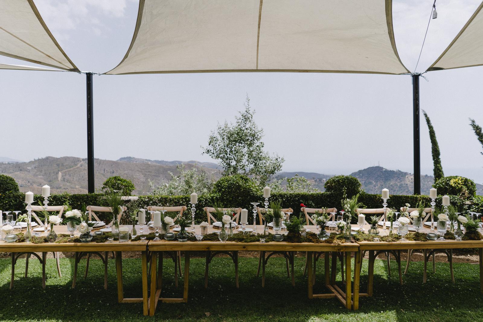 boda con vistas