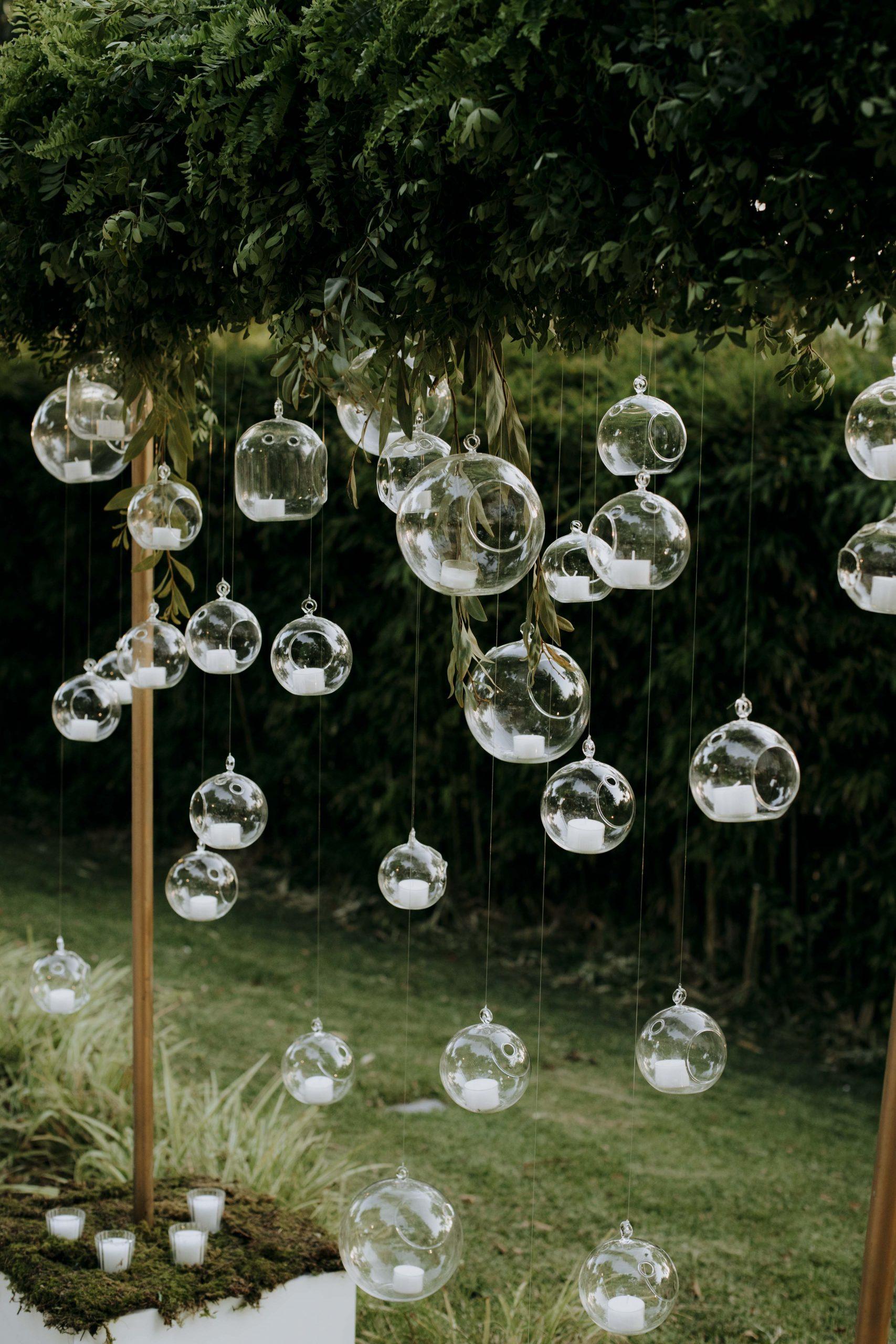 lagrimas de cristal con velas